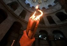 The ceremony of the Holy fire will take place on April 18 in Jerusalem